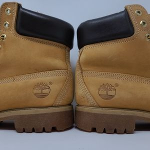Vintage Timberland work hiking boots men's size 8M